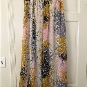 Jade maxi skirt